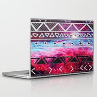 aztec Laptop & iPad Skins featuring AZTEC by UDIN