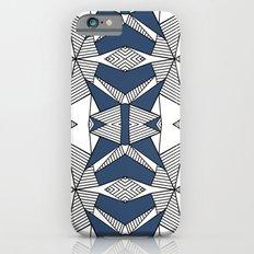 Triangle Tribal #2 Navy iPhone 6s Slim Case