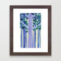 In The Wood Framed Art Print