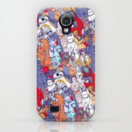 Space Toons In Color Galaxy S4 Slim Case