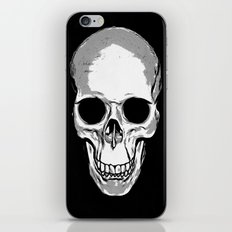 Monotone Skull iPhone & iPod Skin