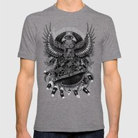 Dream Quest II Mens Fitted Tee Tri-Grey SMALL