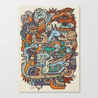 Punky Redux Canvas Print