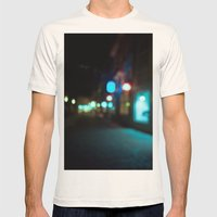 Nocturne Mens Fitted Tee Natural SMALL