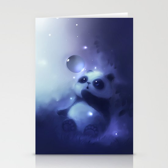 Cold Night Stationery Card