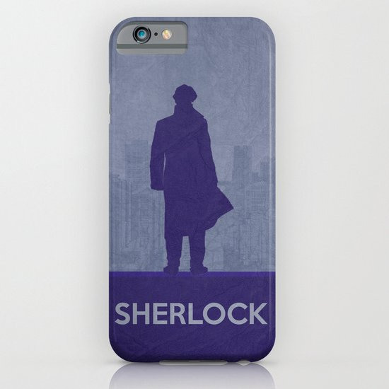 Sherlock Poster 01 iPhone & iPod Case