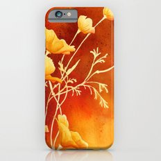 Golden Poppies iPhone 6 Slim Case