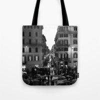 Rain in Rome Tote Bag