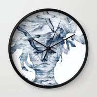 I am the sea and nobody owns me Wall Clock