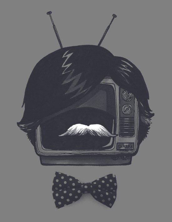 The Classiest TV Set Art Print