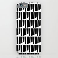 iPhone & iPod Case featuring Westfranke Black & White Pattern by Stoflab