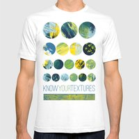 Know Your Textures Mens Fitted Tee White SMALL