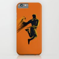 iPhone & iPod Case featuring Basketball  by Enzo Lo Re