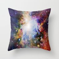 Throw Pillow featuring NEBulA by 2sweet4words Designs