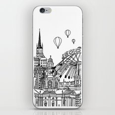 STHLM Silhouettes II iPhone & iPod Skin