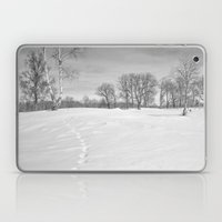 Footprints In The Snow Laptop & iPad Skin