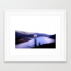 Thompson's Reservoir  Framed Art Print