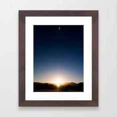 Day n Nite Framed Art Print