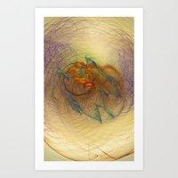 Little Dumbbell Nebula  Art Print