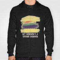 Veggie Burger (blue) Hoody