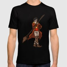 james sirius Black Mens Fitted Tee SMALL