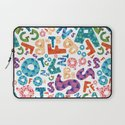 Alphabet Laptop Sleeve