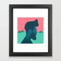 Mountain Man Framed Art Print