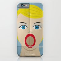 iPhone & iPod Case featuring Deep Throat Minimal Poster Cinema by afrancesado