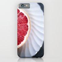 Grapefruit - Foodie Macr… iPhone 6 Slim Case