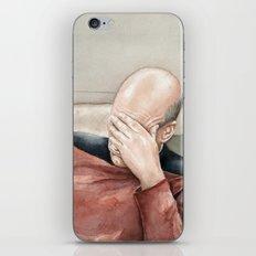 Picard Facepalm Meme iPhone & iPod Skin