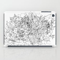 Triumph Over Chaos. iPad Case