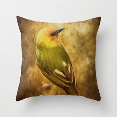 Avian Art Throw Pillow