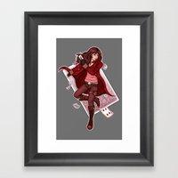 The Dealer Framed Art Print