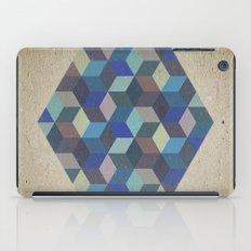 Dimension in blue iPad Case