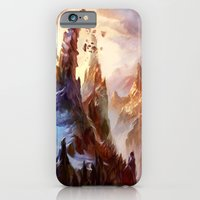 iPhone & iPod Case featuring Mountain by Veronique Meignaud MTG