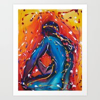 Dreaming In Color Art Print