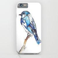 Mountain Bluebird iPhone 6 Slim Case