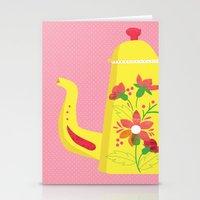 Tea Pot Stationery Cards