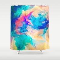 Daub Shower Curtain