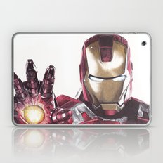 Iron Man Pen Drawing Laptop & iPad Skin