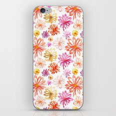 Painted Floral I iPhone & iPod Skin