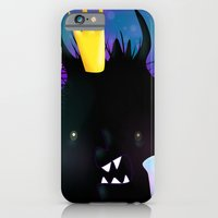 iPhone & iPod Case featuring Midnight Monsters by MindyLouHagan