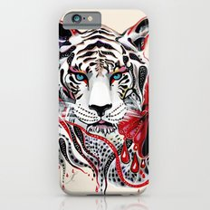 White Tiger iPhone 6 Slim Case