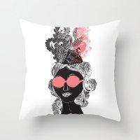 Pink POP Throw Pillow