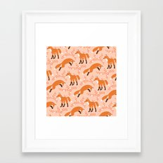 Socks the Fox - Dawn Framed Art Print