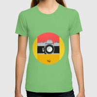 OHH SNAP! Womens Fitted Tee Grass SMALL