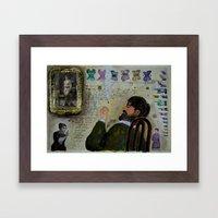 LA MUSA VENALE Framed Art Print