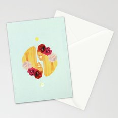 selene and eos Stationery Cards
