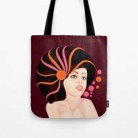 Snail Lady Tote Bag