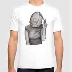 Coy conformity White SMALL Mens Fitted Tee